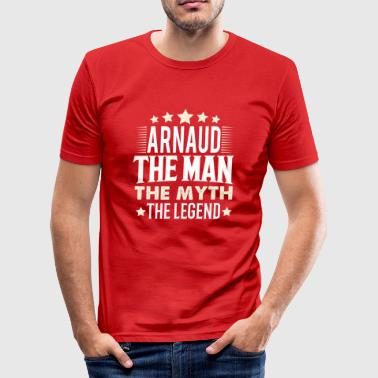 Arnaud - Männer Slim Fit T-Shirt