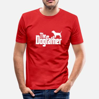 Beagle Dogfather: Beagle - Slim Fit T-shirt herr