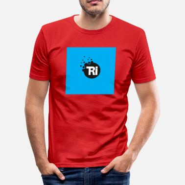 Cyan triathlon cyan - Slim Fit T-shirt herr