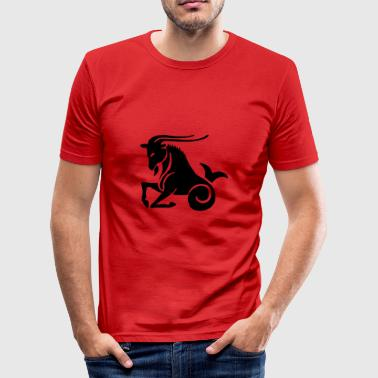 Capricorn - Men's Slim Fit T-Shirt