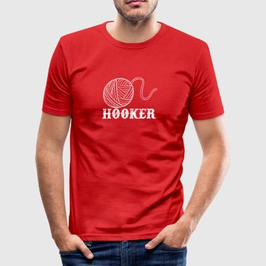Nutte - Männer Slim Fit T-Shirt