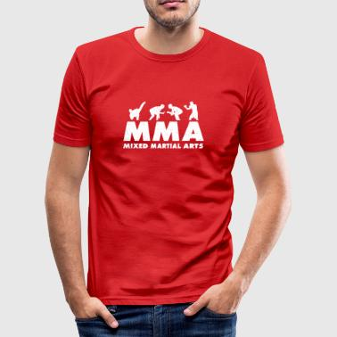Mixed Martial Arts MMA Mixed Martial Arts - Slim Fit T-shirt herr