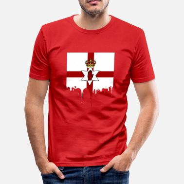 Flag Northern Ireland Northern Ireland Flag - Men's Slim Fit T-Shirt