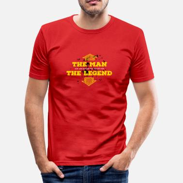 Sex Legendary the man the legend legendary sex man macho titan - Men's Slim Fit T-Shirt