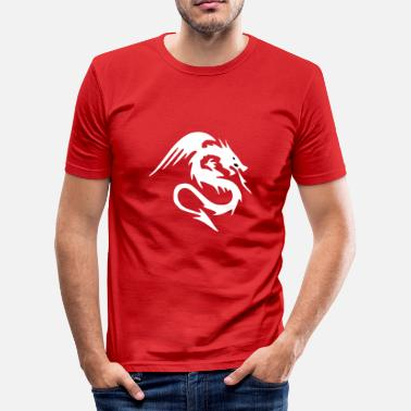 Ares Dragon AR - Men's Slim Fit T-Shirt