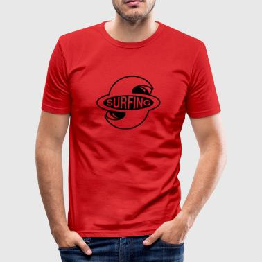 Surfing - Männer Slim Fit T-Shirt
