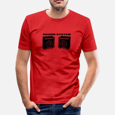 Sound Sound System - Herre Slim Fit T-Shirt