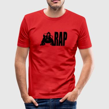 Rap - Männer Slim Fit T-Shirt
