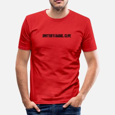 Clive Clive - Men's Slim Fit T-Shirt
