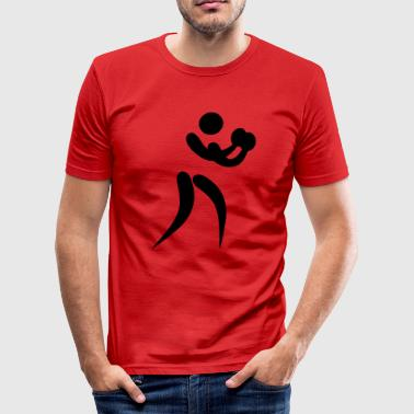 boxing os - Slim Fit T-shirt herr