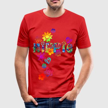 HIPPIE - Männer Slim Fit T-Shirt