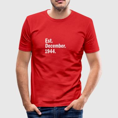 December 1944 - slim fit T-shirt