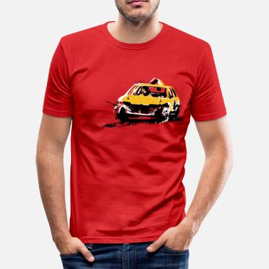 Banger StockCar - Men's Slim Fit T-Shirt