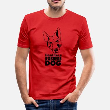 Robber Robbers Dog - Men's Slim Fit T-Shirt