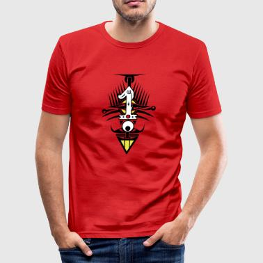 Special Number NUMBER ONE - Men's Slim Fit T-Shirt