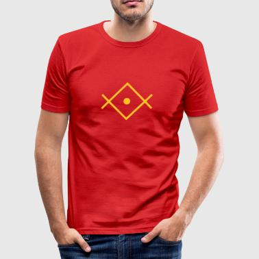 Spiritual Lightworker, Kryon Crystal, Spiritual Symbol - Men's Slim Fit T-Shirt