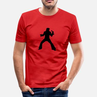 Elvis King Elvis - Men's Slim Fit T-Shirt