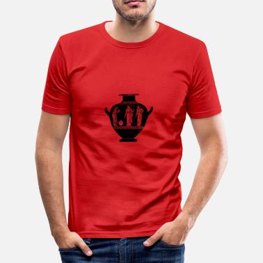 Antike Antike Vase - Männer Slim Fit T-Shirt