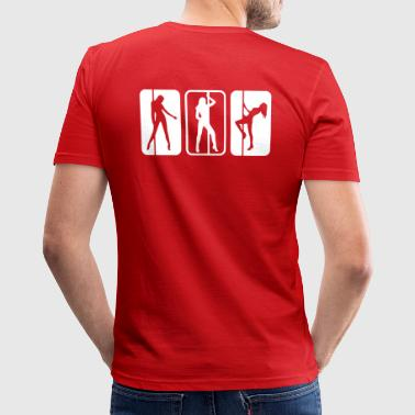Tabledance - T-shirt près du corps Homme