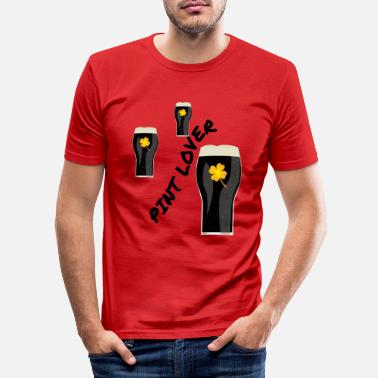 Pint Pint Lover - Men's Slim Fit T-Shirt