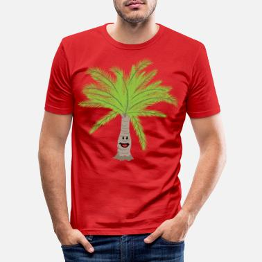 Palm Trees Palm palm trees Palm tree - Men's Slim Fit T-Shirt