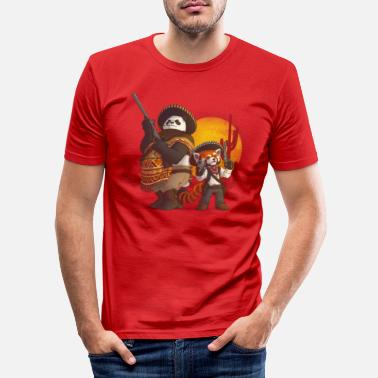 Cool Los Pandidos - Men's Slim Fit T-Shirt