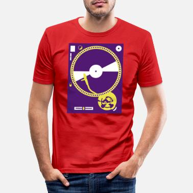 Turntable turntables - Männer Slim Fit T-Shirt