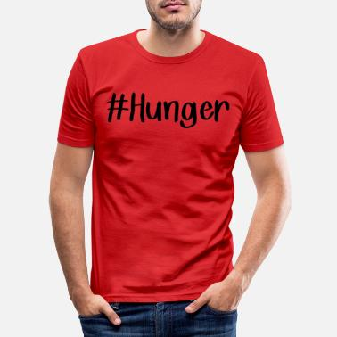 Hunger hunger - T-shirt slim fit herr