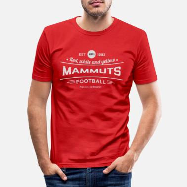 Lumb Vintage MM1-label - Mannen slim fit T-shirt
