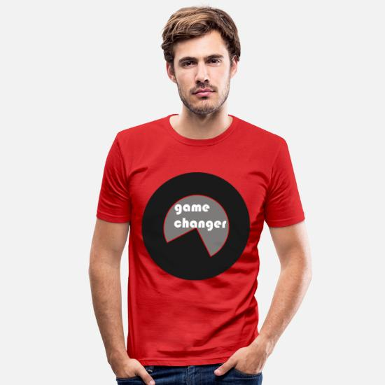 Changer T-Shirts - game changers - Männer Slim Fit T-Shirt Rot