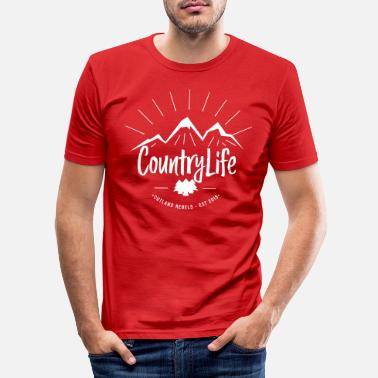 Country Life Country life - Men's Slim Fit T-Shirt