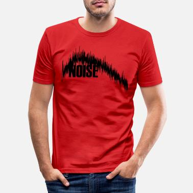 Noise Noise - Men's Slim Fit T-Shirt