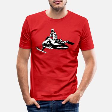 Snowmobile Snowmobil - snowmobile - snowmobile - Men's Slim Fit T-Shirt