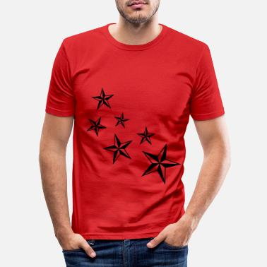 Stars Star - Slim fit T-skjorte for menn