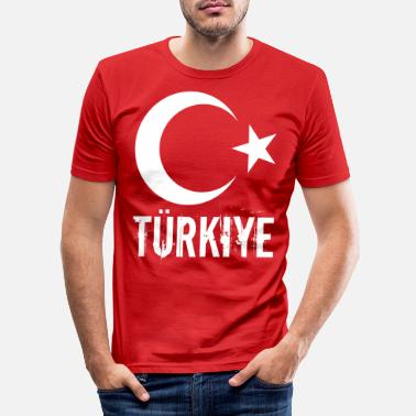 Turquie Turquie - T-shirt moulant Homme