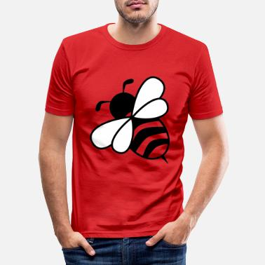 Bumble Bee bee - Men's Slim Fit T-Shirt