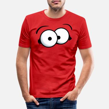 Gros Gros yeux - T-shirt moulant Homme