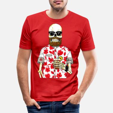 Monster SCHELETRO - Men's Slim Fit T-Shirt