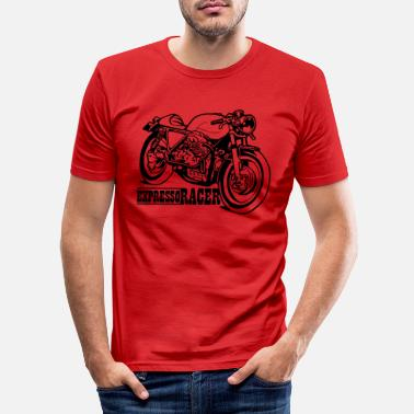 Guzzi Expresso Racer - T-shirt moulant Homme