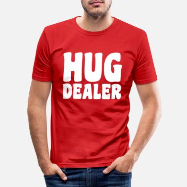 Hug Me Hug - Mannen slim fit T-shirt