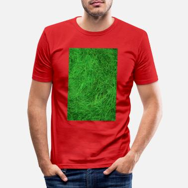 Grass grass - Men's Slim Fit T-Shirt