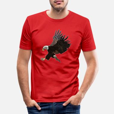 Ornitolog Eagle Eagle - T-shirt slim fit herr