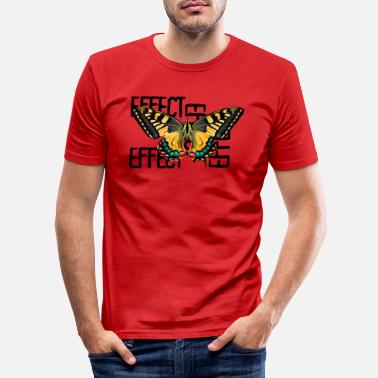 Shelly Quest Effect - Männer Slim Fit T-Shirt
