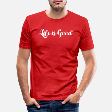 Life Is Good Life is good - Life is good - Men's Slim Fit T-Shirt