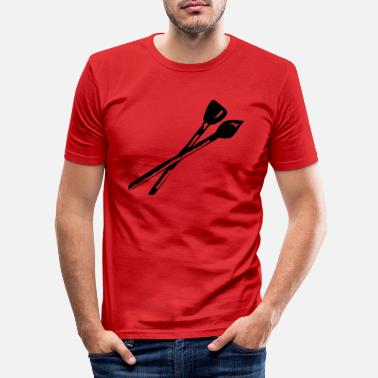 Pinsel Pinsel - Männer Slim Fit T-Shirt