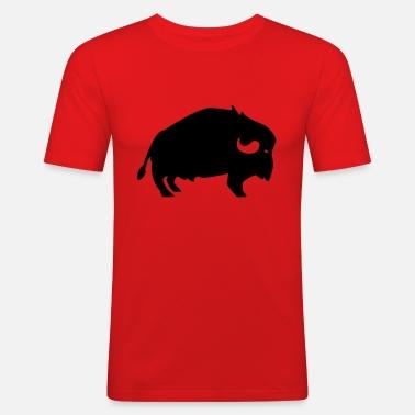 bison Premium T shirt mænd | Spreadshirt