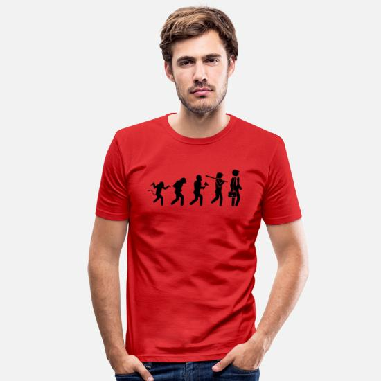 We Are The 99 Percent T-Shirts - Business - Men's Slim Fit T-Shirt red
