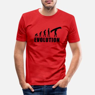 Evolution Canoe EVOLUTION CANOE - Men's Slim Fit T-Shirt