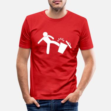 Kick Kick det! - T-shirt slim fit herr