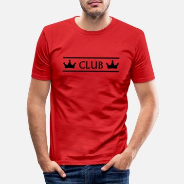 Clubs club - Mannen slim fit T-shirt
